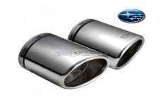 Subaru Forester Mk3 Stainless Steel Sport Exhaust Tail Pipe