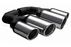Volkswagen Touareg Mk2 Stainless Steel Sport Exhaust Tail Pipes