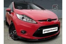 Ford Fiesta Mk7 Front Bumper Lip Spoiler Extension