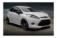 Ford Fiesta Mk7 for ST Line Front Bumper Lip Spoiler Extension