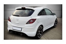 Vauxhall Corsa D Rear Bumper Lip Spoiler Extension