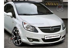 Opel Corsa D Front Bumper Lip Spoiler Extension
