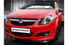 Vauxhall Corsa D Front Bumper Lip Spoiler Extension