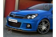 Opel Astra H OPC Front Bumper Lip Spoiler Extension