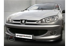 Peugeot 206CC 206RC GTI S16  XSI XS Front Bumper Lip Spoiler Extension