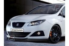 Seat Ibiza 6J Front Bumper Lip Spoiler Extension