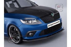 Skoda Fabia RS Mk2 Front Bumper Lip Spoiler Extension