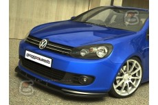 Volkswagen Golf Mk6 Front Bumper Lip Spoiler Extension