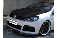 Volkswagen Golf Mk6 R Front Bumper Lip Spoiler Extension