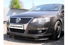 Volkswagen Passat B6 3C For VOTEX Front Bumper Lip Spoiler Extension