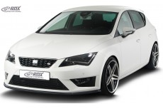 Seat Leon Cupra 5F FR + 5F / Leon Cupra FR + 5F SC / ST 5F Leon FR Front Bumper Lip Spoiler Extension Splitter