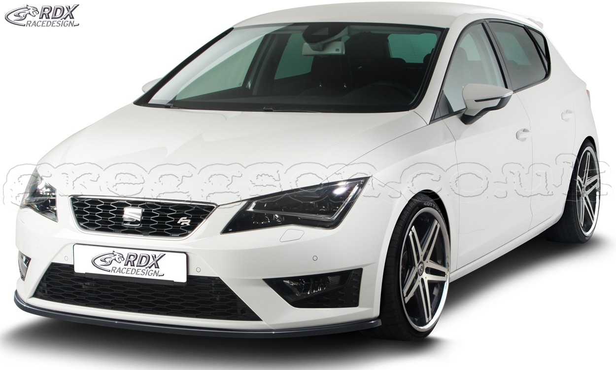 seat leon cupra fr 5f leon cupra fr 5f sc st 5f leon fr front bumper lip spoiler. Black Bedroom Furniture Sets. Home Design Ideas
