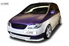 Hyundai Getz 2005-2009 Front Bumper Lip Spoiler Extension Splitter