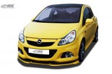 Opel Vauxhall Corsa D OPC (-2010) Custom Front Bumper Lip Spoiler Extension Splitter