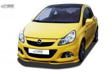 Opel Vauxhall Corsa D OPC -2010 (Fits to OPC and OPC Front Bumper) Custom Front Bumper Lip Spoiler Extension Splitter