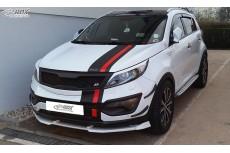 Kia Sportage (SL) Custom Front Bumper Lip Spoiler Extension Splitter