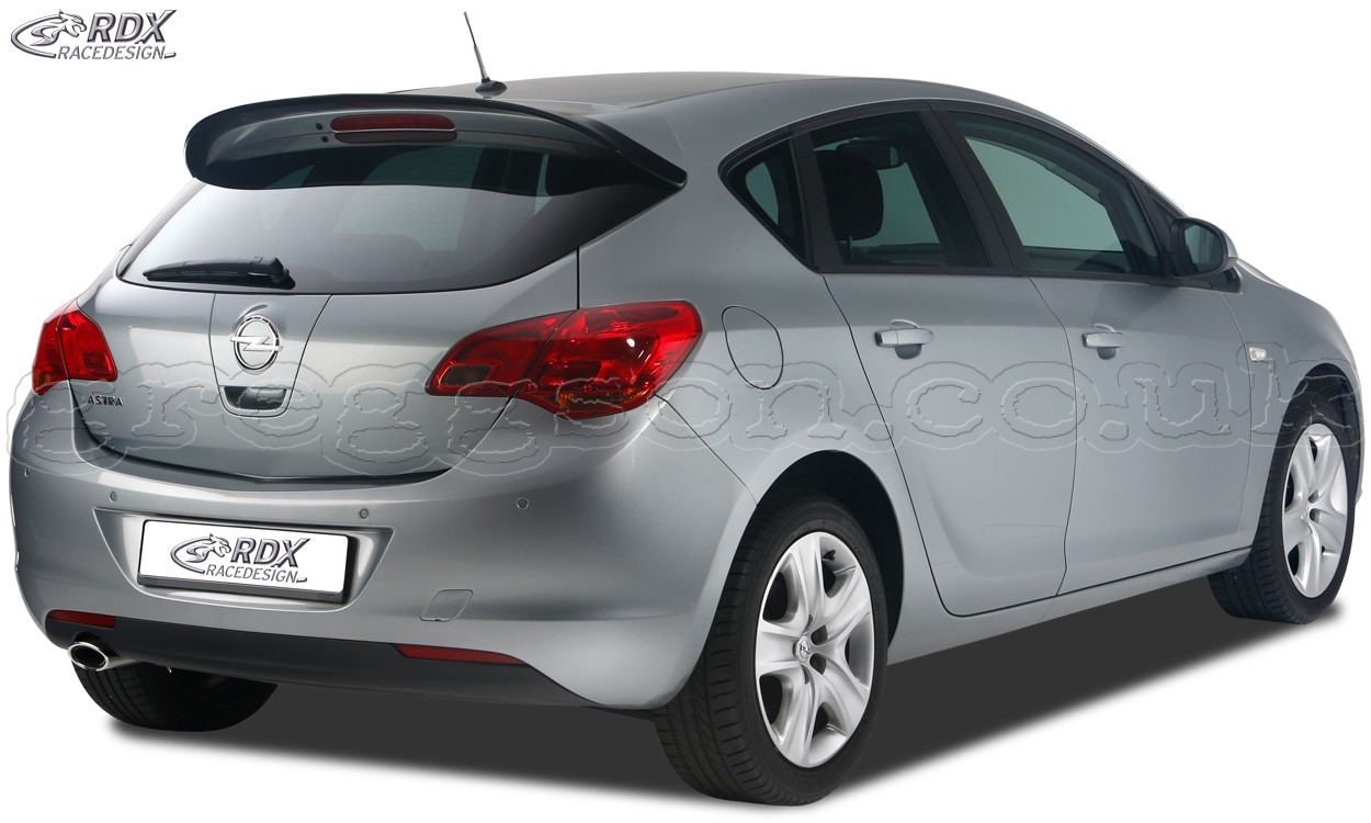 opel vauxhall astra j custom rear roof wing spoiler. Black Bedroom Furniture Sets. Home Design Ideas