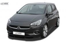 Opel Vauxhall Corsa E Front Bumper Lip Spoiler Extension Splitter