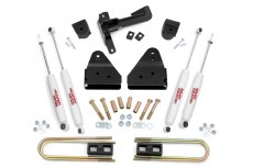 "Ford F250 4WD (2008-2010) 3"" Rough Country Lift Kit 4x4 Off Road"