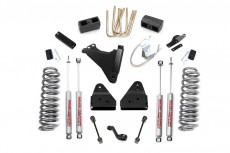 "Ford F250 4WD (2008-2010) 4,5"" Rough Country Lift Kit 4x4 Off Road"