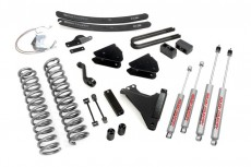 "Ford F250 4WD (2008-2010) 6"" Rough Country Lift Kit 4x4 Off Road"
