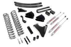 "Ford F350 4WD (2005-2007) 6"" Rough Country Lift Kit 4x4 Off Road"