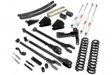 "Ford F350 4WD (2005-2007) 6"" Rough Country Lift Kit Pro 4x4 Off Road"