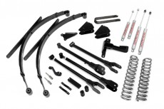 "Ford F350 4WD (2005-2007) 8"" Rough Country Lift Kit 4x4 Off Road"