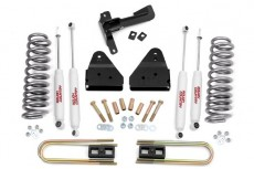 "Ford F350 4WD (2008-2010) 3"" Rough Country Lift Kit Pro 4x4 Off Road"