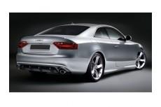 Audi A5 8T Rear Bumper Lip Spoiler Extension