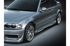 BMW E46 Coupe Custom Side Skirts