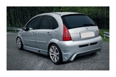 Citroen C3 Custom Rear Bumper
