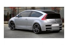 Citroen C4 Coupe Custom Rear Bumper