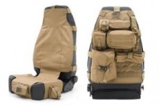 Front Seat Cover Coyote Tan Smittybilt G.E.A.R. Off Road Universal