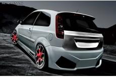 Ford Fiesta Mk6 Custom Rear Bumper