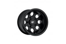 "Alloy Wheel Pro Comp Model 7069 Flat Black 16"" x 8"
