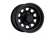 "Steel Wheel Pro Comp Rock Crawler 52 Gloss Black 16"" x 8"