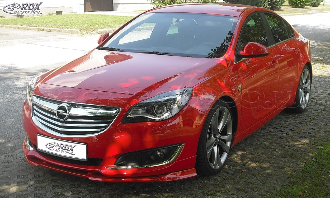 opel vauxhall insignia opc line 2013 custom front bumper lip spoiler extension splitter. Black Bedroom Furniture Sets. Home Design Ideas