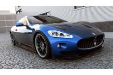 Maserati Granturismo Preface Standard & S Version (2007 - 2011) Custom Front Bumper Lip Spoiler Extension