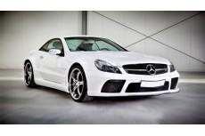 "Mercedes SL R230 Standard Preface & Facelift Version (2001 - 2011) Custom Body Kit ""Black Series Look"""