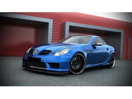 "Mercedes SLK Class R171 Standard Versions (2004 - 2011) Custom Front Bumper + Lip Spoiler ""SLK R172 AMG Look"""