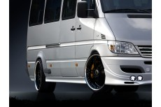 Mercedes Sprinter Mk1 Standard Versions (1996-2006) Custom Side Skirts