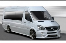 Mercedes Sprinter Mk2 Standard Versions (2006-2012) Custom Front Bumper