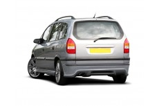 Opel Vauxhall Zafira A Standard Version (1999-2005) Custom Rear Bumper Extension
