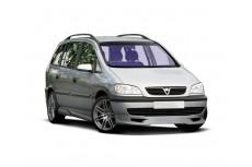 Opel Vauxhall Zafira A Standard Version (1999-2005) Custom Front Bumper Extension Lip Spoiler