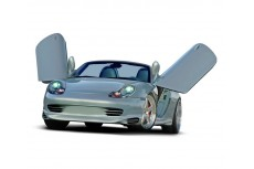 Porsche Boxster 986 Series Before Facelift Standard Version (1996-2003) Custom Front Bumper Lip Spoiler Extension