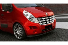 Renault Master Mk3 Standard Version (2010-) Custom Front Bumper Lip Spoiler Extension