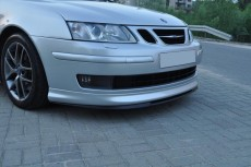 Saab 9-3 Aero Version (2002-2007) Custom Front Bumper Lip Spoiler Extension
