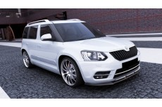 Skoda Yeti City Version Facelift (2013-) Custom Front Bumper Lip Spoiler Extension