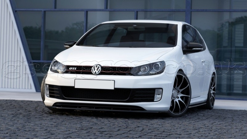 volkswagen golf gti mk6 35th 2008 2012 custom front. Black Bedroom Furniture Sets. Home Design Ideas